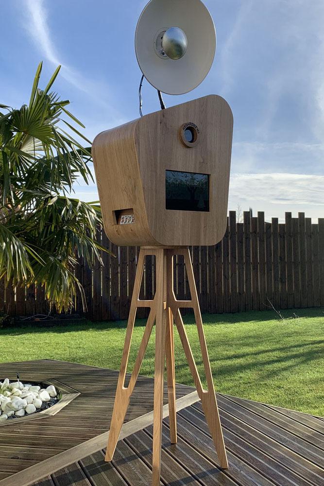 Borne photobooth en extérieur